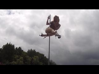 Юля | pole dance ИМПРОВИЗАЦИЯ | Курск | upgdade
