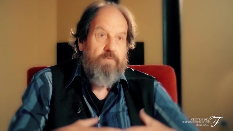 José María Pou. Misionero del teatro. 'Figuras' 2016. CDT