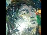 В.Цой портрет