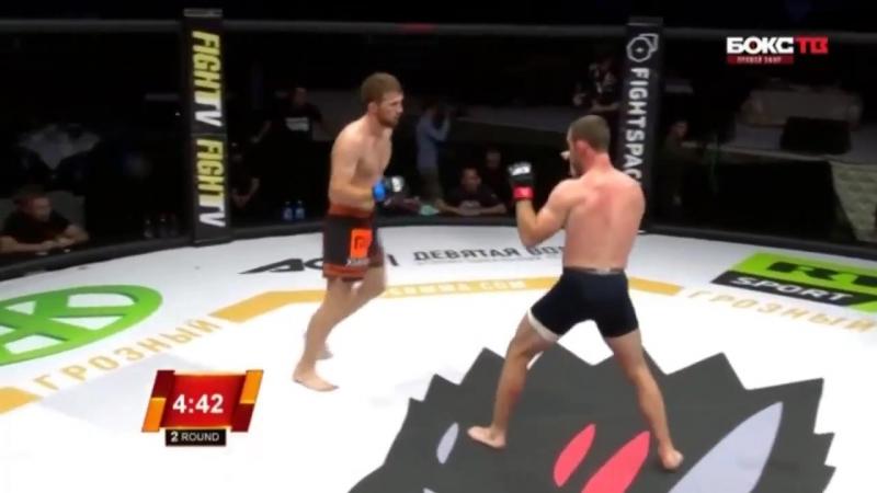 Mukhamed Berkhamov vs Brett Cooper