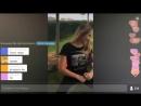 Голая девушка танцует тверк,большая и сочная попа(1)