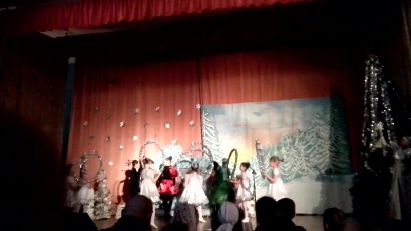 ECARTE.RU - танец Снежинки хор/ Светланы Самковой