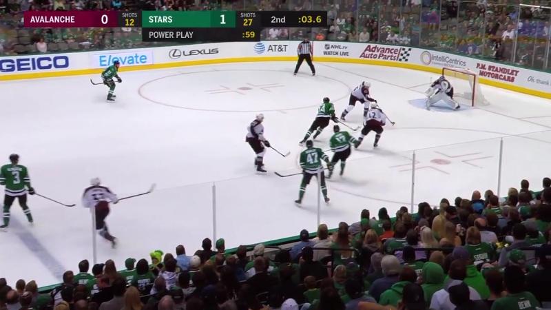 НХЛ - регулярный чемпионат. Даллас Старз - Колорадо Эвеланш - 3:1 (0:0, 2:0, 1:1)