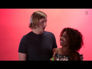 Black girls kiss white guys for the first time bwwm