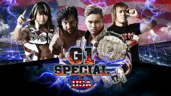 Post image of NJPW G1 Special in USA