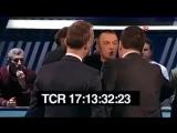 Ведущий канала ТВЦ спровоцировал драку в прямом эфире
