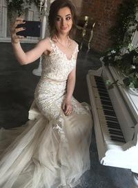 Белый ангел свадебные платья