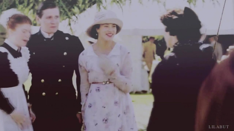 Downton Abbey / Аббатство Даунтон (Сибил и Том Бренсон) - Poison and wine