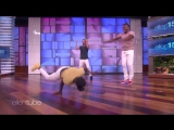 Breakdancing Brothers Perform for Ellen RUS SUB