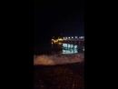 Корабль ночное море