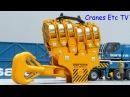 WSI Sarens SGC-120 Ring Crane by Cranes Etc TV