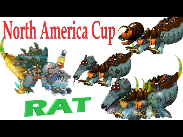 Mutant Fighting Cup 2 Rat - Mutated rat and queen of spiders (North America Cup 11-15) Part 250