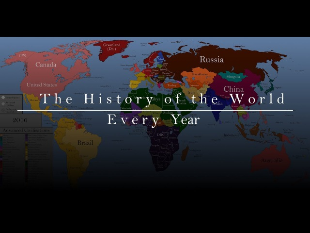 The History of the World Every Year
