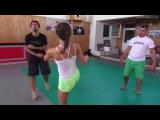 Ľubka martial arts action preview