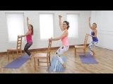 Corinne Wainer - Yoga-Barre Hybrid Workout (Popsugar) Баррная тренировка с элементами йоги и пилатеса