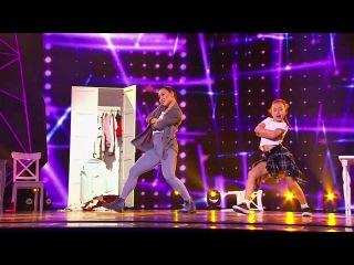 Танцы: Баина и София Овчинникова (Leopard Bonapart - Barbarella) (сезон 3, серия 20)