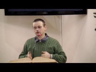 Коростелёв С.Г. - проповедь: Пример Учителя (19.01.2017г.)