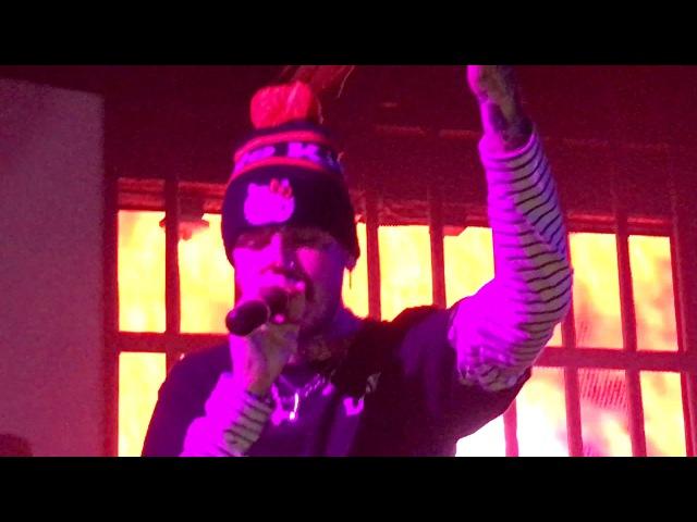 Lil Peep feat Horse Head Girls Live in LA 10 10 17