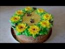 Торт МЕДОВИК Рецепт медовика на ЖЕЛТКАХ Honey Cake Recipe Оформление торта в домашних у