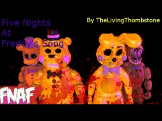 (Fnaf) (SFM) The Living Tombstone Fnaf 1 Song Music Video