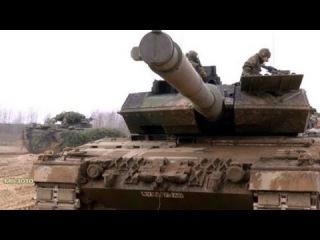 Превосходство НАТО / Танки Leopard 2A6 Германии в Литве