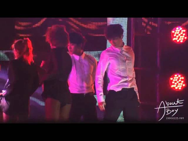 [FANCAM] 111231 JUNHO MBC Gayo Daejun - Back2U (2)
