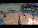 Волейбол. Юноши. Нападающий (атакующий) удар