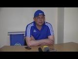 После матча Черноморец - Сочи Эдуард Саркисов