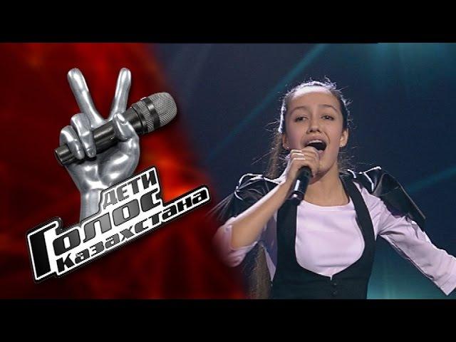 Дильнура Биржанова I need a hero - Финал – Голос Казахстана Дети