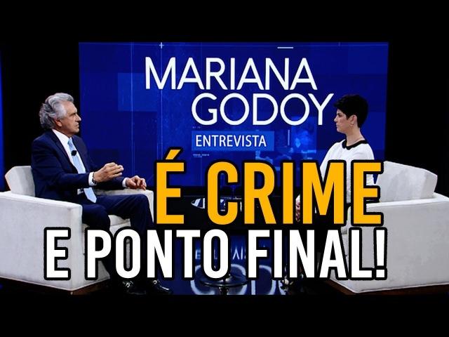 Caiado tem que explicar 3 vezes para Godoy que exposição no MAM foi crime