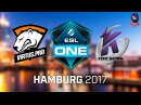 VP vs KEEN GAMING RU (bo1) ESL One Hamburg 2017 Major 26.10.2017