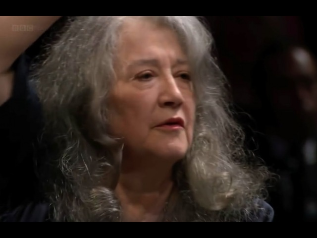 Martha Argerich - Liszt Piano Concerto No 1 in E flat major (2016UK )