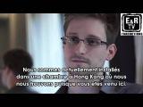 Interview de Edward Snowden, lanceur d'alerte.