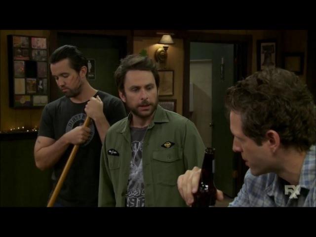 It's Always Sunny in Philadelphia - Mac and Dennis' argument