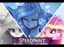 Princesses  Pastel GORE!  Mlp speedpaint