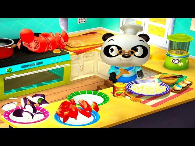 Итальянский ресторан Доктора Панды - Развивающая игра для детей Dr. Panda's restaurant 2