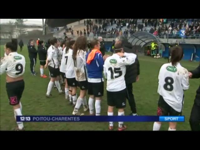 Coupe de France de football : Bordeaux écrase les joueuses des 3 Cités de Poitiers