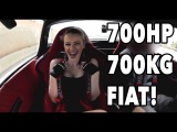 HOT GIRL Rides in a 700WHP, 700KG