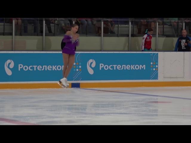 Кубок России Ростелеком 2017 2018, 1 й Жeнщины, MC ПП 18 Екатерина РЯБОВА МОБ
