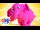 Лічилка Про Слоненят Розвиваючі мультики Дитячі Пісні