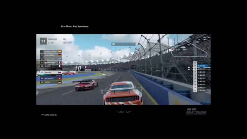 GT Sport National champ race 2. Hell on the wheels
