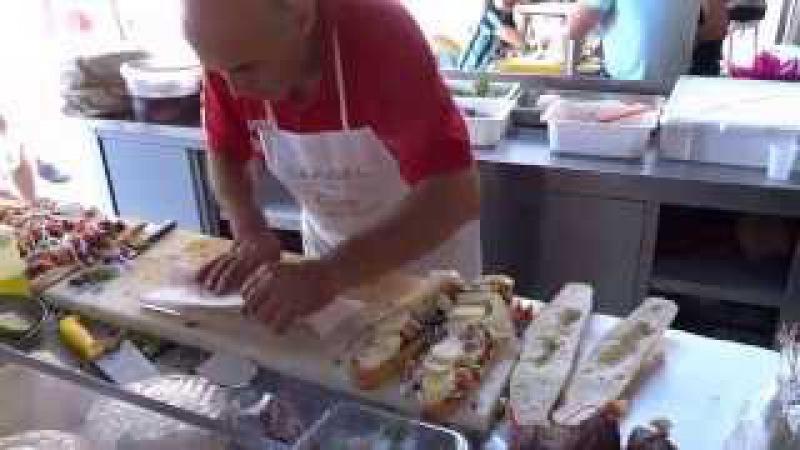 Street Food: Italy Sicily incredible Panini / Sandwich (edited)