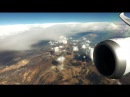 LAN Boeing 787 9 Dreamliner over the Andes Cote D'Azur and Alps from Santiago to Milano