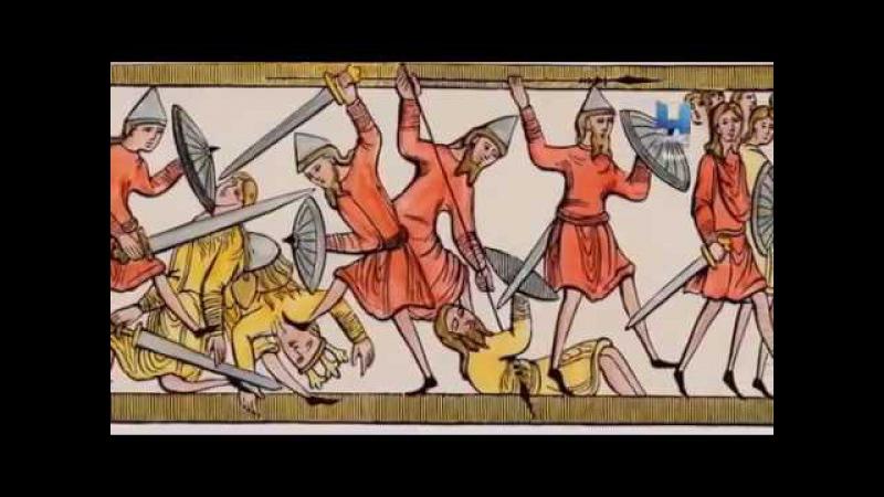История завоевания Англии викингами в 9 веке