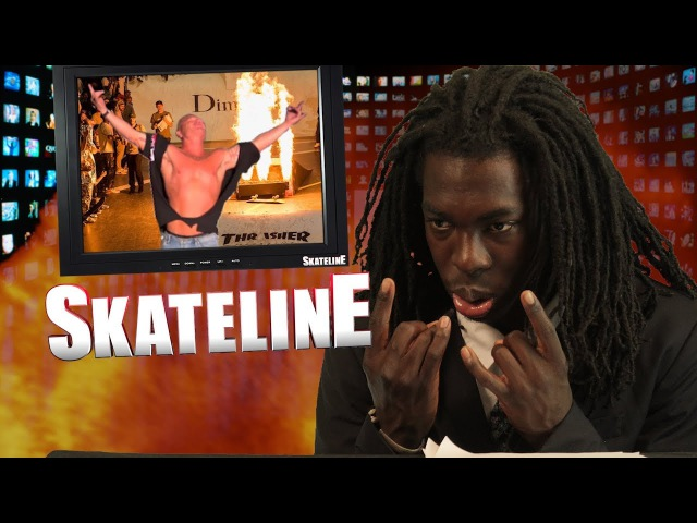 SKATELINE - T Funk Bam Margera Pro, Riley Hawk, Heath Kirchart, Dime Glory 7 more