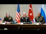 Вести.Ru: Начальники Генштабов России, США и Турции провели переговоры по Сирии в Анталье