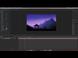 After Effects Tutorial  Create SNOW and RAIN with Particles