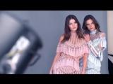Alessandra Ambrósio, Isabeli Fontana, Olivier Rousteing  for Vogue Brazil October 2016