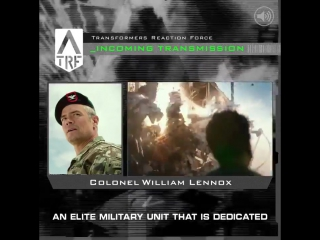 Incoming transmission from Col. Lennox.