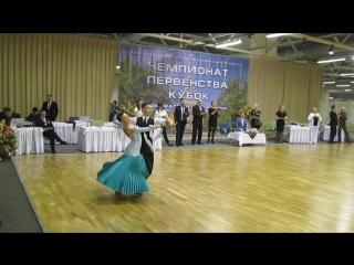 Антон и Марина! 30.10.2016г. Европейская программа 4 танца (в Двоеборье)